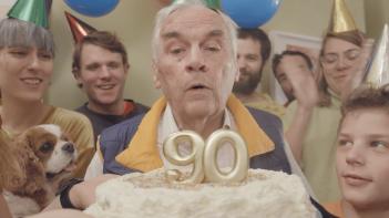Rođendanska pozivnica za 90. rođendan KKZ-a